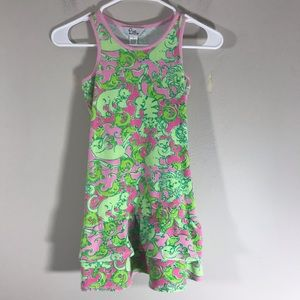Lilly Pulitzer girls terry cloth swim cover up 7